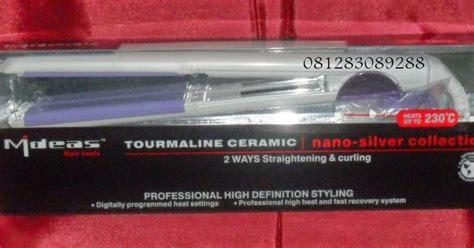 Paket Catokan 2 In 1 H55l catokan rambut ceramic mideas 2 in 1 pelurus dan keriting