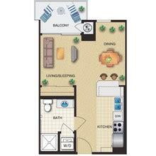 how big is 480 square feet the orsini rentals los angeles ca apartments com