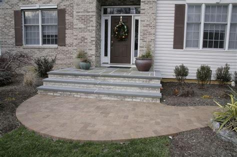 bluestone brick front entrance steps masonry patios brick and bluestone steps bluestone caps outdoor