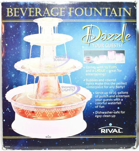 rival 2 1 2 gallon electric beverage 12 cups and