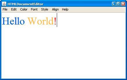 java swing html viewer 调试和测试 swing 代码