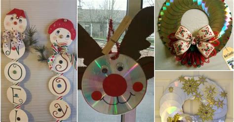 adornos navide241os reciclando 14 ideas para hacer adornos de navidad con cds solountip