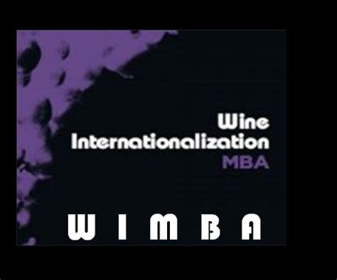 Wine Mba by Wimba Wine Mba Wimba2011
