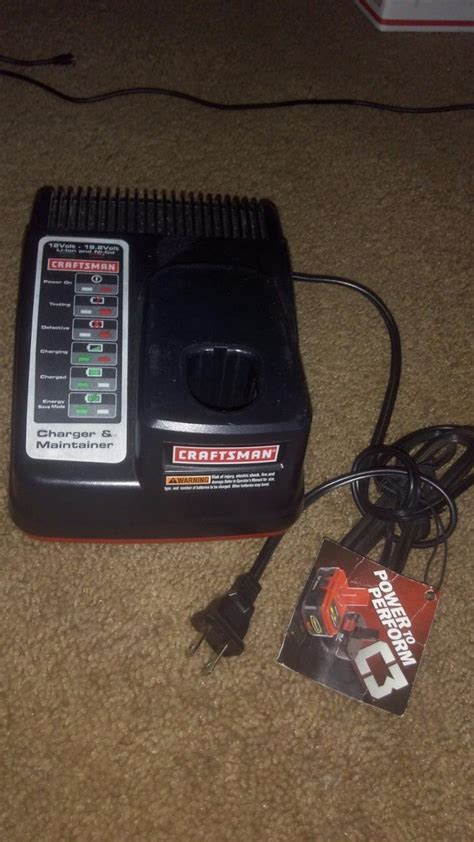 craftsman battery charger 19 2 craftsman 19 2 lithium charger for sale classifieds