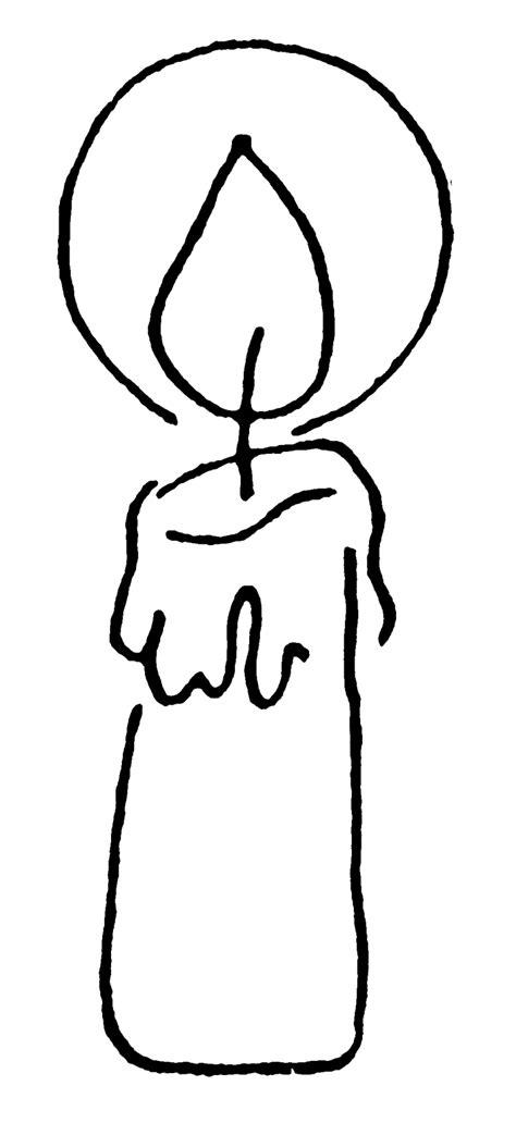 disegni candele di natale candele da colorare my