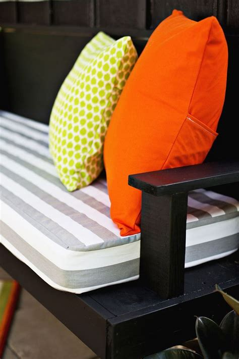 make your own bench seat make your own outdoor cushions a beautiful mess