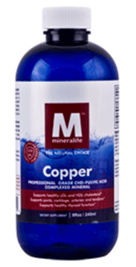 Copper Detox Supplement by Copper Supplement Ionic Mineral Supplement 96 Day Supply