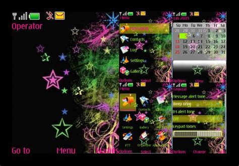 nokia 6300 themes love you stars nokia 6300 theme by donnamaecurlz on deviantart