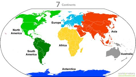 world map of continents continents of the world map continents of the world map