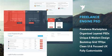 Freelanceengine Freelance Marketplace Template Themekeeper Com Freelance Marketplace Website Template