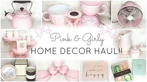 nicole miller home decor pink home decor essentials haul homegoods tj maxx