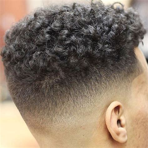 fade with curls the skin fade haircut bald fade haircut men s