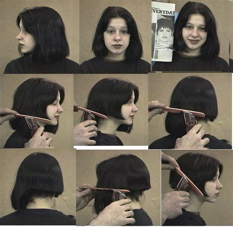 how to cut womens hair step by step very short haircuts for thick wavy hair hair style and