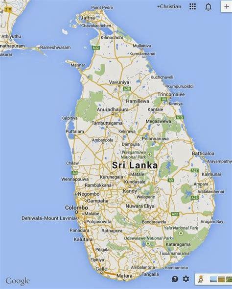 sri lanka satellite map sri lanka reise 2014 tegel nach mirissa