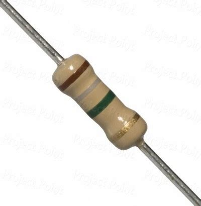 make 1 ohm resistor electronic components carbon resistor 1 4 w 5 1 8 mega ohms was listed for r0 07 on 13