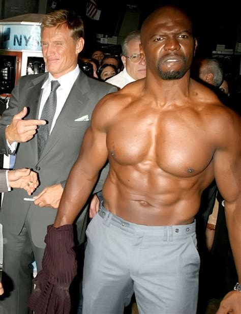 big ripped actors black male celebrities terry crews ripped black actor