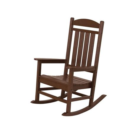 white outdoor rocking chair home depot trex outdoor furniture yacht club classic white patio