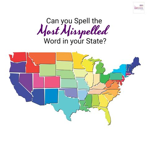 top misspelled words by state top misspelled words by state 28 images maps america s