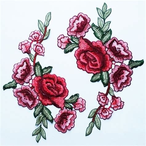 Patch Flower great flower applique with peony these are features a
