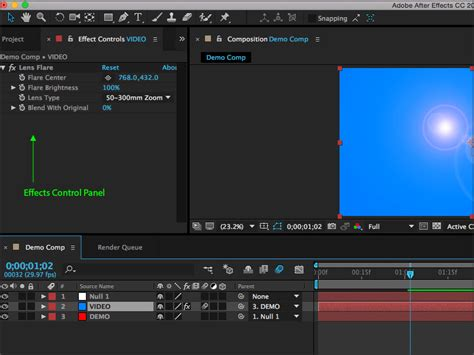tutorial opening after effect after effects beginners guide to effects and animations