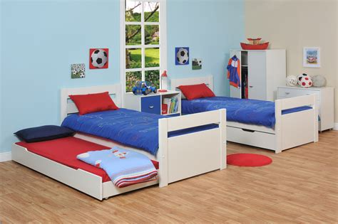 bedroom with two beds space saving stylish bunk beds for your home