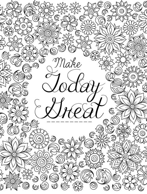 mandala coloring pages with quotes 1555 best images about coloring on gel