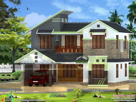 home design 5 bhk house design in 2000 sq ft kerala home design and floor plans