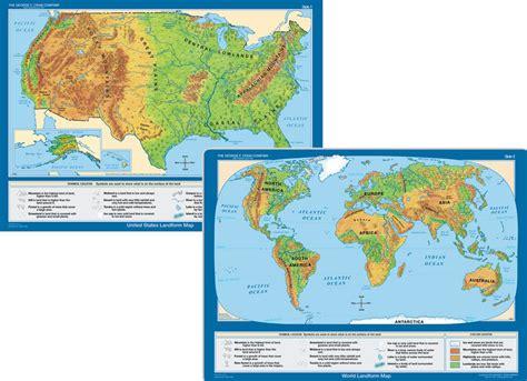 landform map of the united states