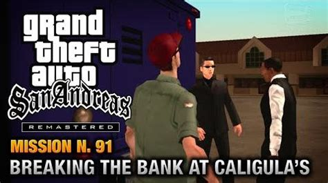 video gta san andreas remastered mission 91 breaking