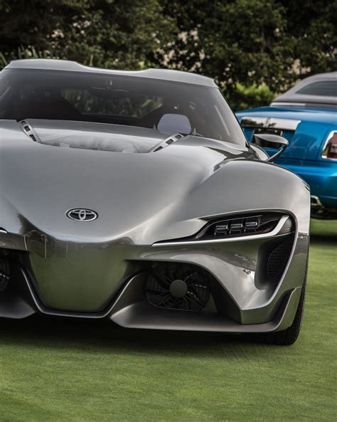 roll royce toyota toyota ft 1 and rolls royce behind toyota ft 1
