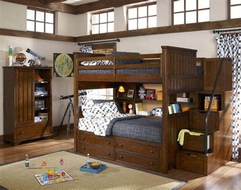 full over full bunk bed with stairs bunk beds full over full with stairs modern storage twin