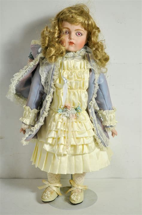 porcelain doll limited edition loveless 1997 limited edition porcelain doll ebay