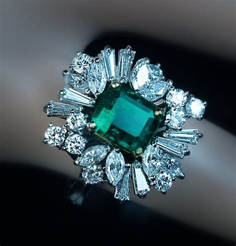 25 best ideas about emerald rings on green