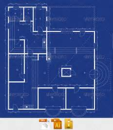 blue prints of houses blueprint graphicriver