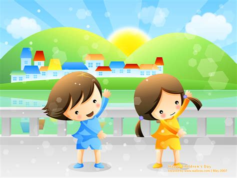 childrens wallpaper children s day powerpoint backgrounds and wallpapers ppt