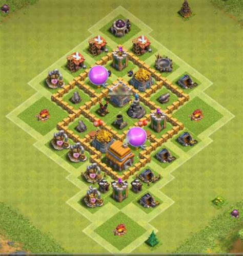 best layout in coc th5 9 best th5 trophy base layouts 2018 coc base