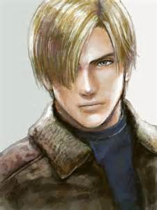 leons kennedy hairstyle for leon kennedy geeky pinterest