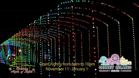 Nights Of Lights At Coney Island