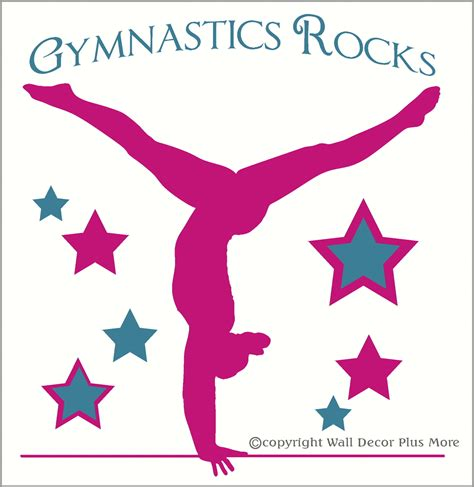gymnastics clipart gymnastic quotes for quotesgram