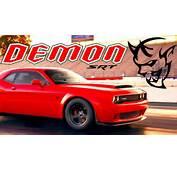 New Rumors Say Dodge Demon Has Up To 1000  Horsepower – Speed