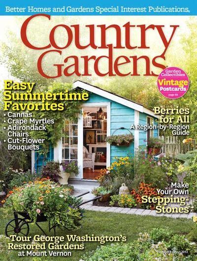 country gardens magazine subscription discount magazines com