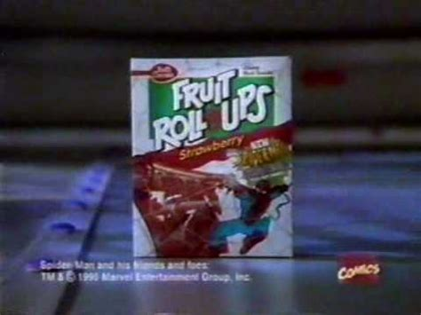 fruit roll ups commercial 1995 betty crocker fruit roll ups commercial spider