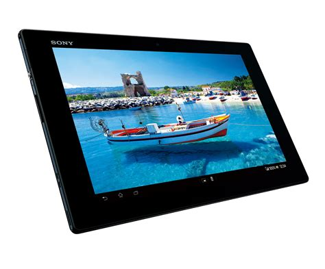 Tablet Sony by Sony Unveils Xperia Tablet Z 10 1 Inch