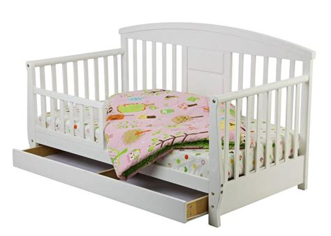 baby day bed dream on me deluxe toddler day bed with storage drawer white baby toddler