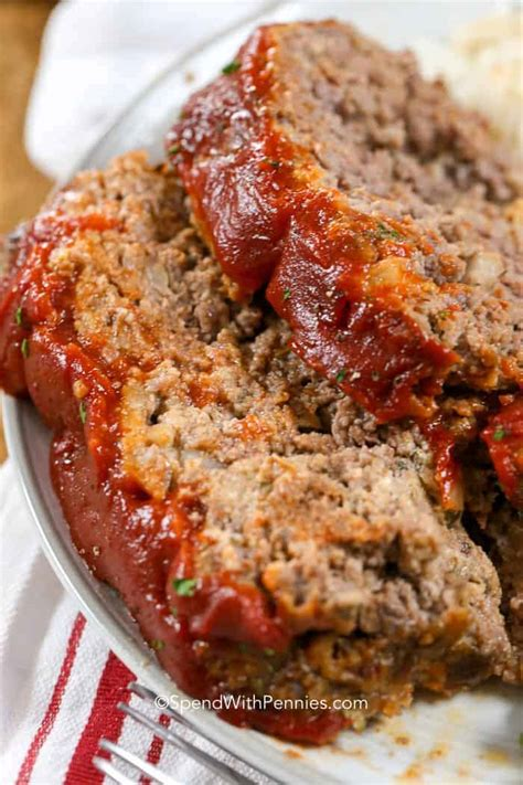 meatloaf recipe best the best meatloaf recipe spend with pennies