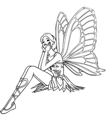 barbie butterfly coloring pages barbie coloring pages kids world