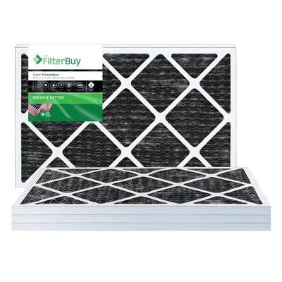 16x25x1 odor eliminator pleated air filter filterbuy.com