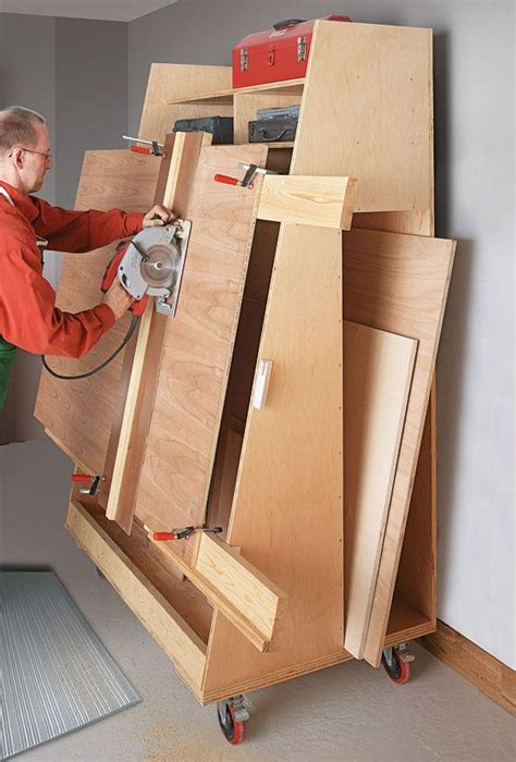 woodworking without a table saw panel cutting lumber cart panel saws make work of