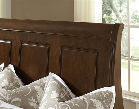 sleigh bed headboard only vaughan bassett french market transitional king sleigh bed