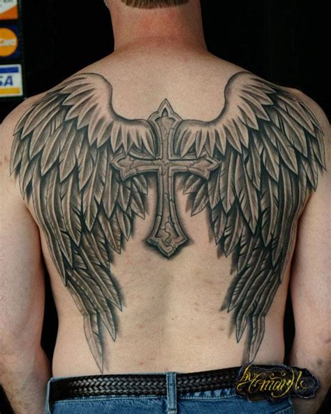 back wing tattoos for men 50 tattoos for top designs for